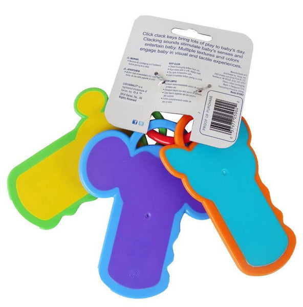 Click Clack Key Baby Teether