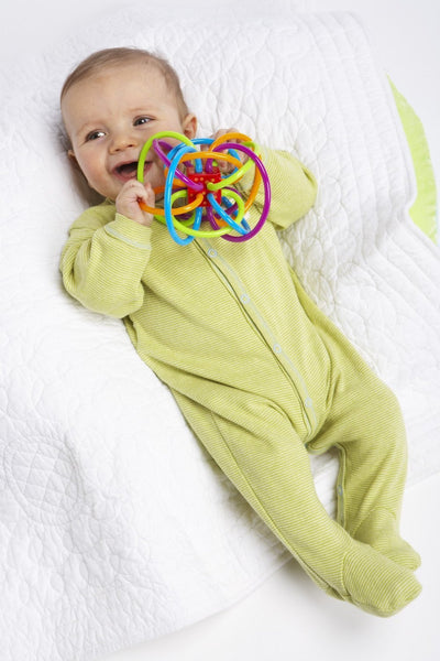 Rattle and Sensory Teether Activity Toy