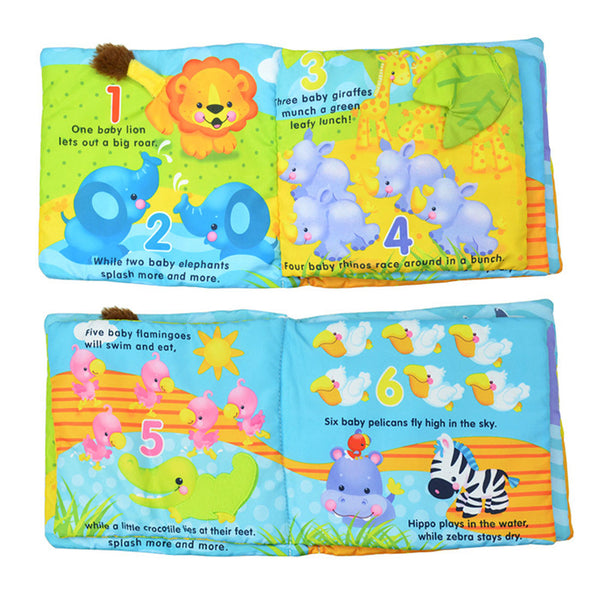 Cloth Book (Baby Animals)