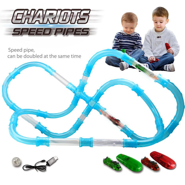 RC CAR TOY KIDS SPEED PIPES RACING TRUCKS REMOTE CONTROL