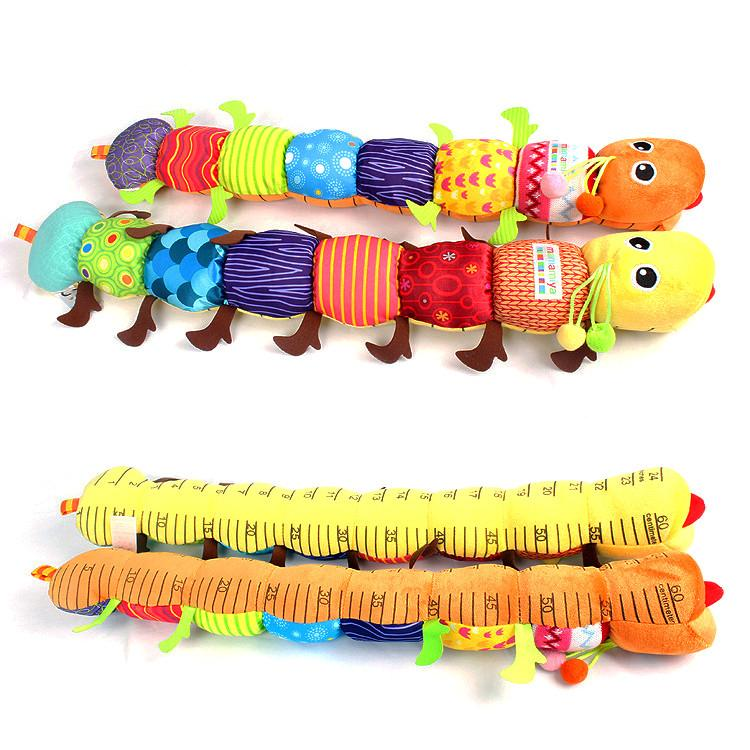Caterpillar Ruler Musical Toy