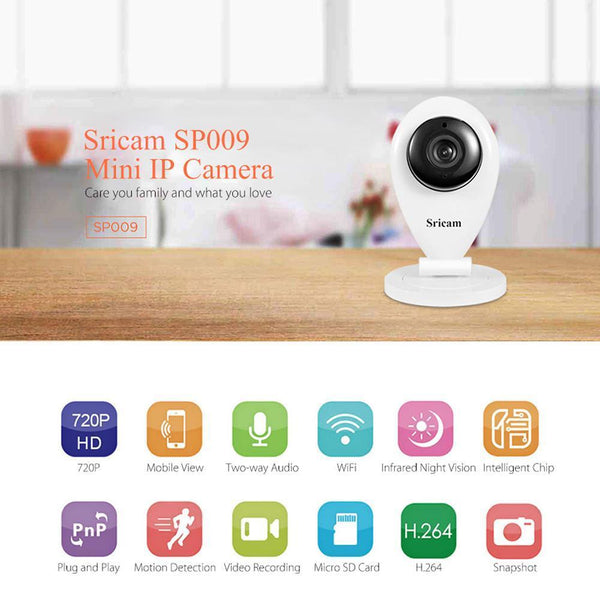 GuardianEye™ - Premium Quality Wireless Surveillance Camera 720P