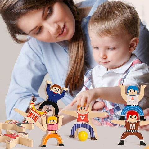 Hercules Stacking Blocks Balancing Toy