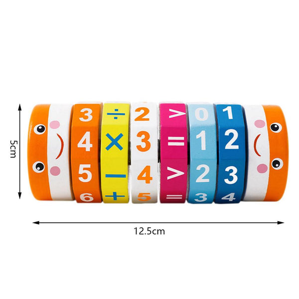 Cylindrical Math Cube