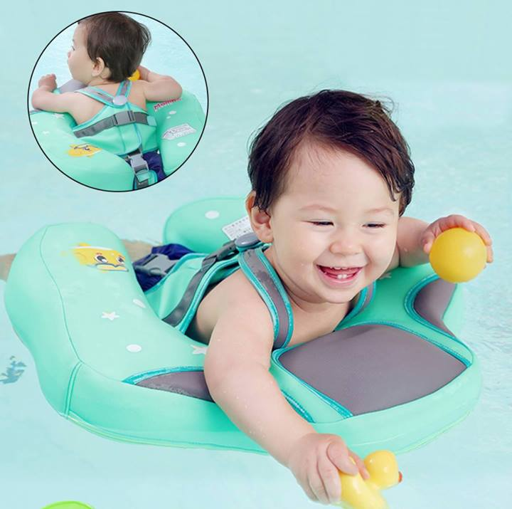 2 IN 1 BABY SWIM TRAINER FOR SAFETY & FUN