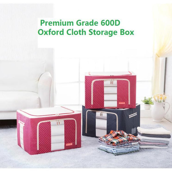 YOUFEN™ Foldable Premium Grade Waterproof Oxford Fabric Storage Box