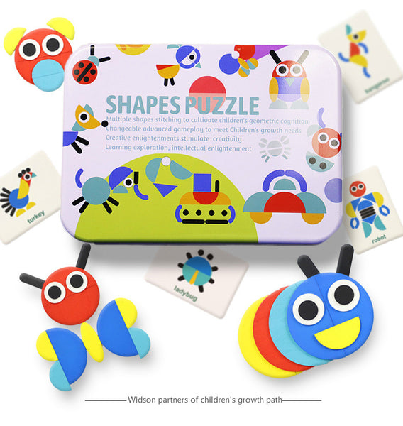 Shape Puzzle Educational Toy