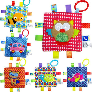 Labeling Crinkle Soothing Toy (BUY 2 FREE 1)
