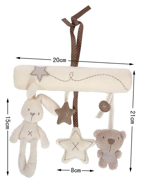 Millie & Boris Soft Musical Hanging Toys