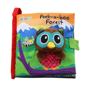 Peek-A-Boo Forest Fun Interactive Book