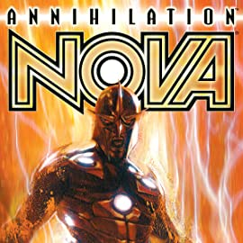 ANNIHILATION: NOVA #1-4 (2006 Marvel Comics) COMPLETE SET