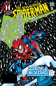 SPIDER-MAN MEDIA BLIZZARD PTS #1-3 (Marvel 1996) SET