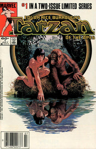 TARZAN OF THE APES #1-2 (Marvel 1984) COMPLETE SET