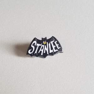 BAT-STAN ENAMEL PIN