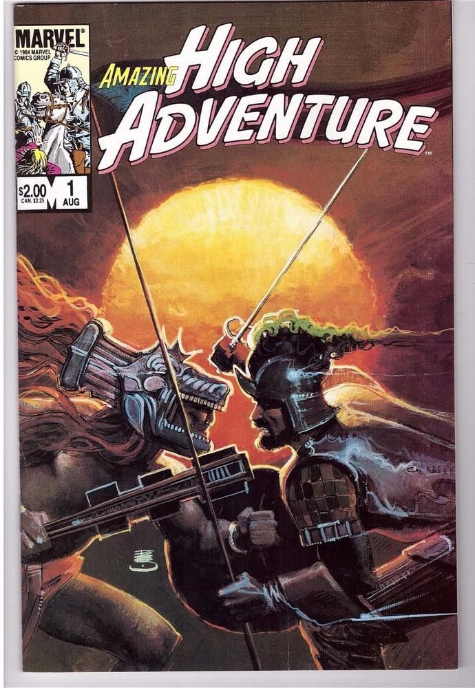 AMAZING HIGH ADVENTURE #1-5 (1984 Marvel Comics) COMPLETE SET