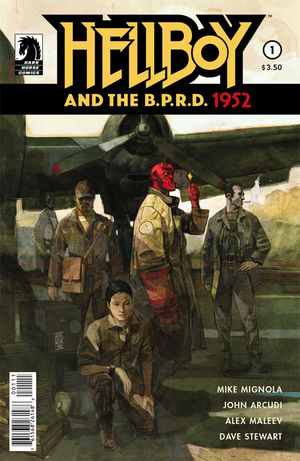 HELLBOY AND THE BPRD 1952 #1-5 (Dark Horse 2014) COMPLETE SET