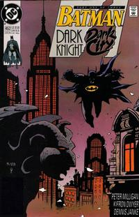 BATMAN DARK KNIGHT DARK CITY #452-454 (DC 1990) COMPLETE SET