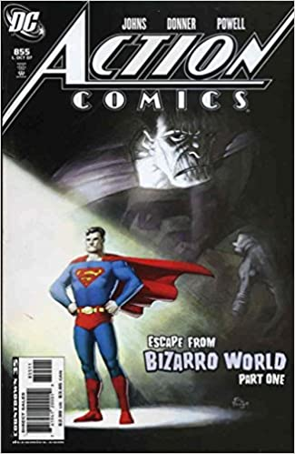 ACTION COMICS #855-857/ESCAPE FROM BIZARRO WORLD (DC 2007) SET
