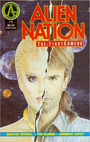 ALIEN NATION THE FIRSTCOMERS #1-4 (Adventure 1991) COMPLETE SET