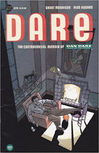 DARE: THE CONTROVERSIAL MEMOIR #1-4 (Monster 1991) COMPLETE SET