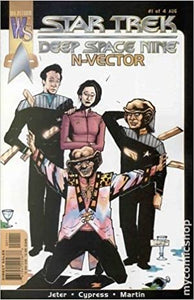 STAR TREK DEEP SAPCE NINE N-VECTOR #1-4 (Wildstorm 2000) COMPLETE SET