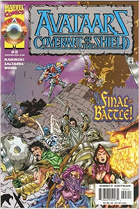 AVATAARS COVENANT OF THE SHIELD #1-3 COMPLETE SET