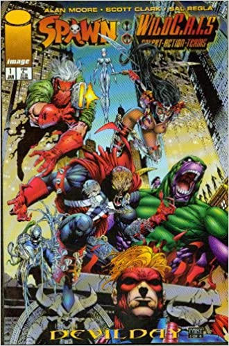 SPAWN WILDC.A.T.S DEVIL DAY #1-4 (Image 1996) COMPLETE SET