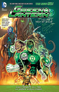 GREEN LANTERN HC VOL 05 TEST OF WILLS