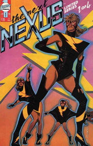 NEXT NEXUS #1-4 (First 1989) COMPLETE SET