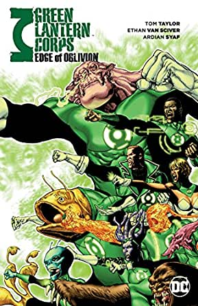 GREEN LANTERN CORPS TP EDGE OF OBLIVION