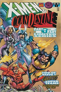 X-MEN AND THE CLANDESTINE #1-2 (Marvel 1996) COMPLETE SET