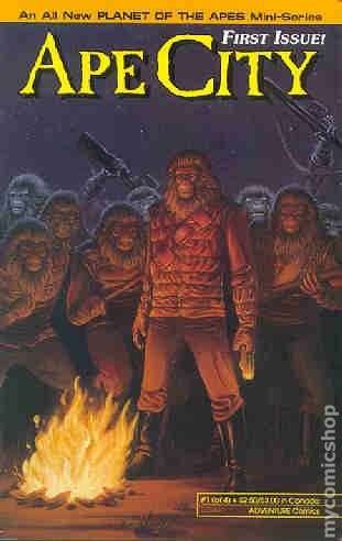 APE CITY #1-4 Complete Set PLANET OF THE APES