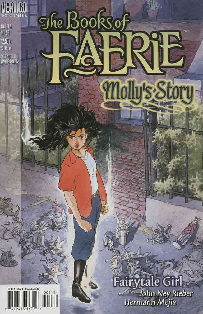 BOOKS OF FAERIE: MOLLY'S STORY #1-4 (DC 1999) COMPLETE SET