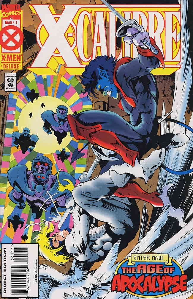 X-CALIBRE #1-4 (Marvel 1995) COMPLETE SET