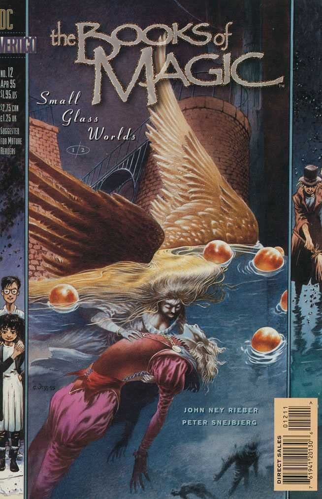 BOOKS OF MAGIC #12-13 SMALL GLASS WORLDS (DC 1995) COMPLETE SET