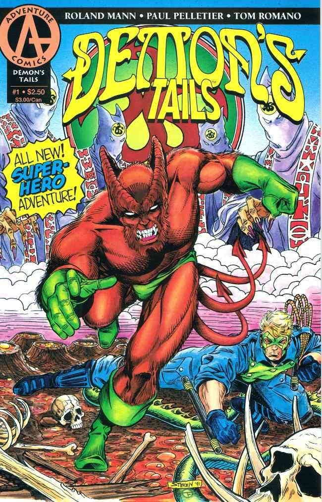 DEMON'S TAILS #1-4 (1993 Adventure Comics) COMPLETE SET