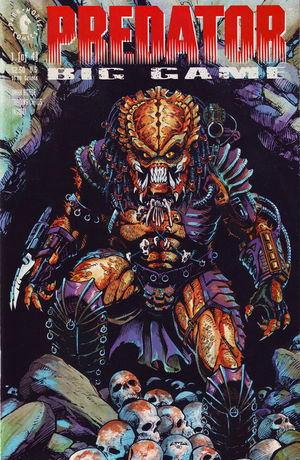 PREDATOR BIG GAME #1-4 (Dark Horse 1991) COMPLETE SET