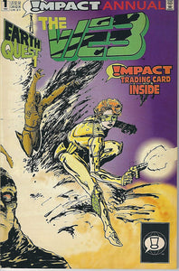 EARTH QUEST #1-6 (Impact 1992) COMPLETE SET