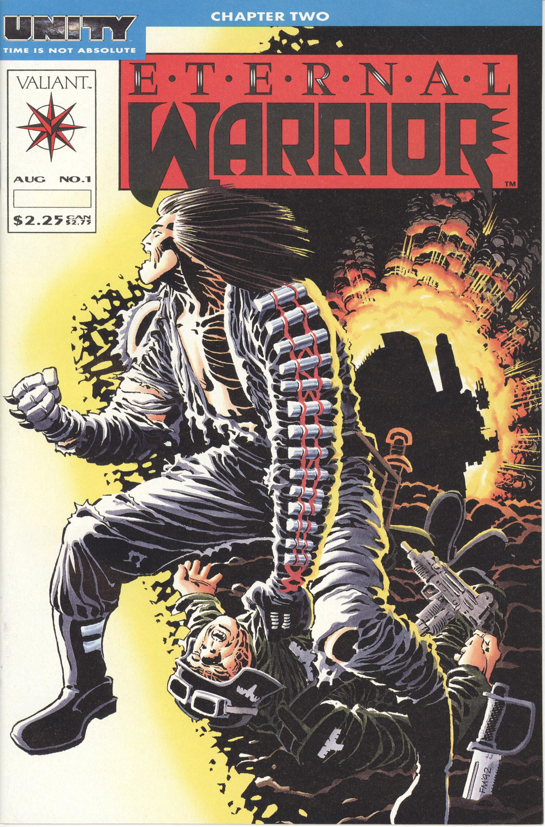 ETERNAL WARRIOR #1-50 + Yearbook 1-2, Special (1992 Valiant) FULL COMPLETE SET