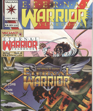 Load image into Gallery viewer, ETERNAL WARRIOR #1-50 + Yearbook 1-2, Special (1992 Valiant) FULL COMPLETE SET