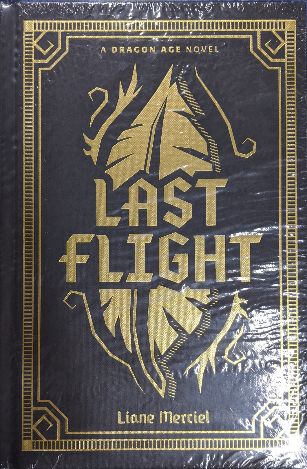 Dragon Age Last Flight Deluxe Edition Novel HC