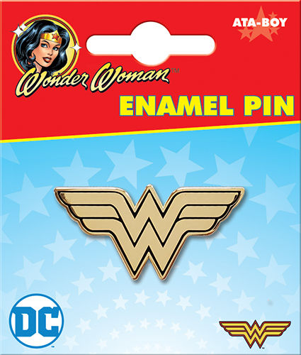 WONDER WOMAN LOGO ENAMEL PIN