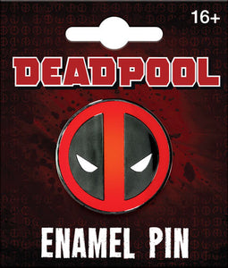 DEADPOOL LOGO ENAMEL PIN