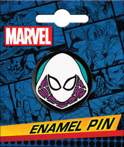 SPIDER-GWEN HEAD ENAMEL PIN