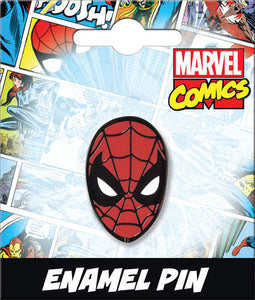 SPIDER-MAN HEAD ENAMEL PIN