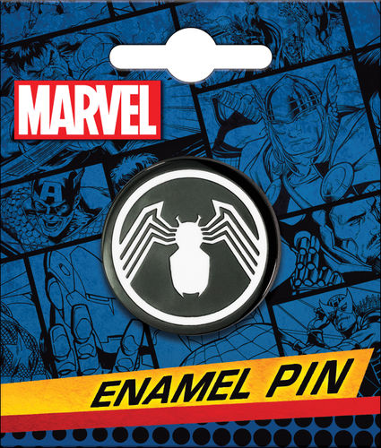 SPIDER-MAN BLACK SPIDER ENAMEL PIN