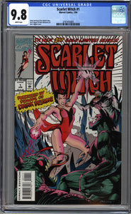 SCARLET WITCH #1 (1994 Marvel) CGC GRADED 9.8 NM/MT WHITE PAGES WANDAVISION
