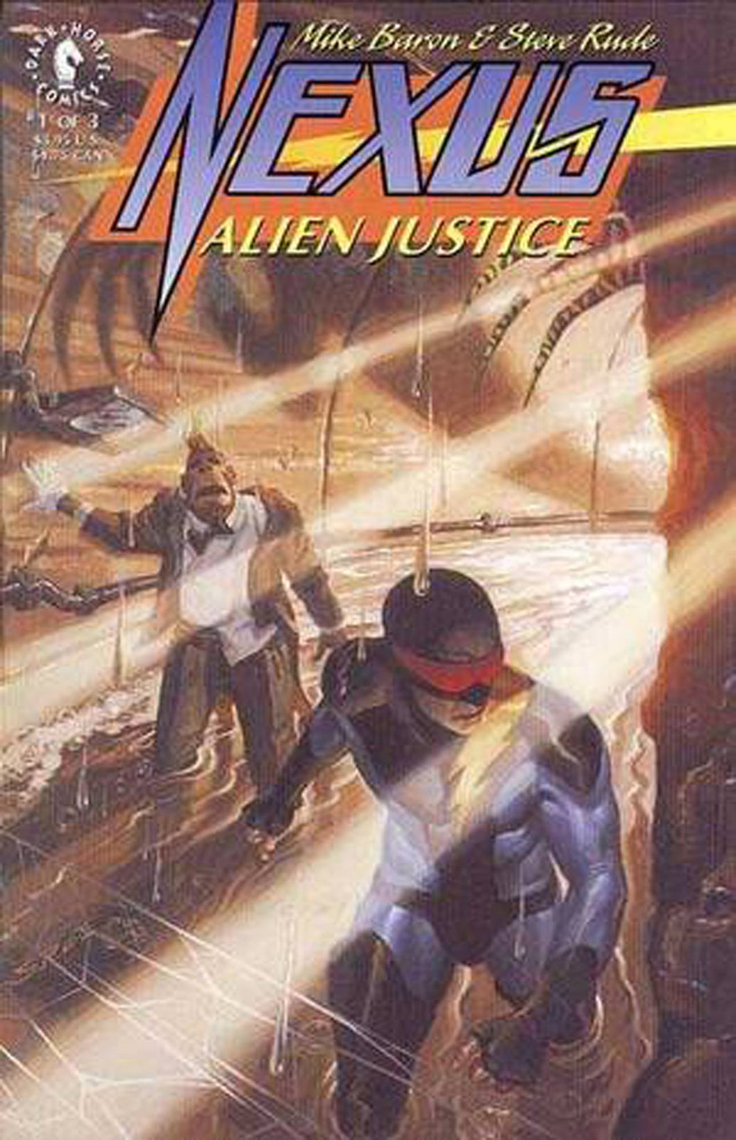 NEXUS: ALIEN JUSTICE #1-3 (Dark Horse 1992) COMPLETE SET