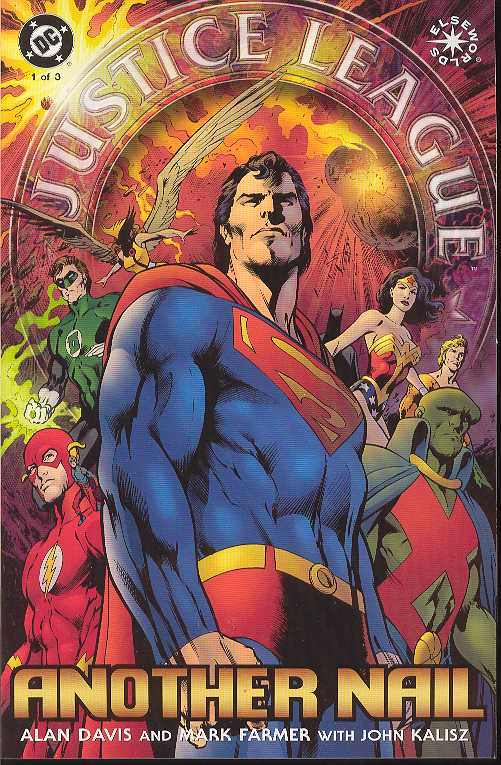 JUSTICE LEAGUE: ANOTHER NAIL (2004 DC Comics) #1-3 COMPLETE SET
