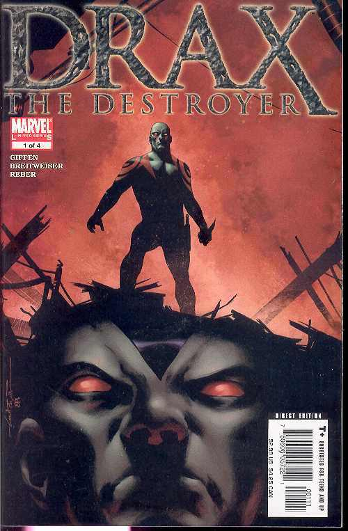 DRAX THE DESTROYER #1-4 (2005 Marvel Comics) COMPLETE SET